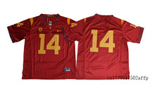 Nike 2017 USC Trojans Sam Darnold 14 College Football Jersey Boxing Jersey Basketballly Jersey(China)