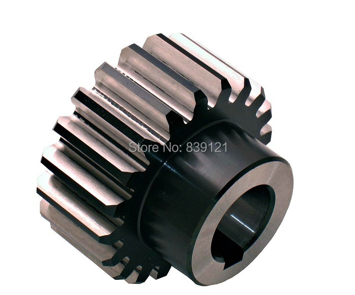 bevel gear and rack 2pc M1.5 20teeth inner hole 6mm with 2pcs M1 12teeth inner hole 6mm with 1pc rack M1 15 X 15 X 300MM.<br>