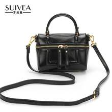 SUIVEA Brand Women Handbags Boston Tote Bags Designer Handbags Shoulder bag 2017 High Quality For Female 2017 New Fashion Ladies
