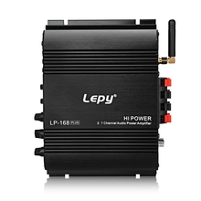 Lepy 168 Plus Mini Portable Wireless 2.1CH Audio Digital Compact Amplifier Bluetooth 2.1 + EDR Speaker