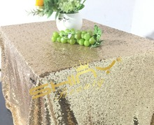 Best Quality 50''*72'' Light Gold Sequin Tablecloths, Shiny Gold Tablecloths, Overlays. SHIPS 1- 2 days. Gatsby glam wedding