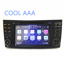 car radio DVD  2 din  for Mercedes E G class W211 W464 CLS GPS NAVI with Radio 2 din for W211 E class 2002-2008 WIFI 3G