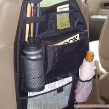 Car Accessories organizer Back seat of chair Car multi Pocket Storage Auto storage bag Car seat high quality