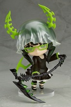 Hot 10cm Black Rock Shooter BLEACH DM Cute Version Animation Cartoon Dolls Action Figure