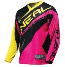 2018Mavic Cycling T-shirts Motocross Oneal Element Racewear Womens Pink / yellow jersey-x-Martin Mx Mtb Big Moto Cross(China)