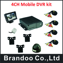 High quality,Car bus truck 4 channel D1 DVR from original manufactuer(China)