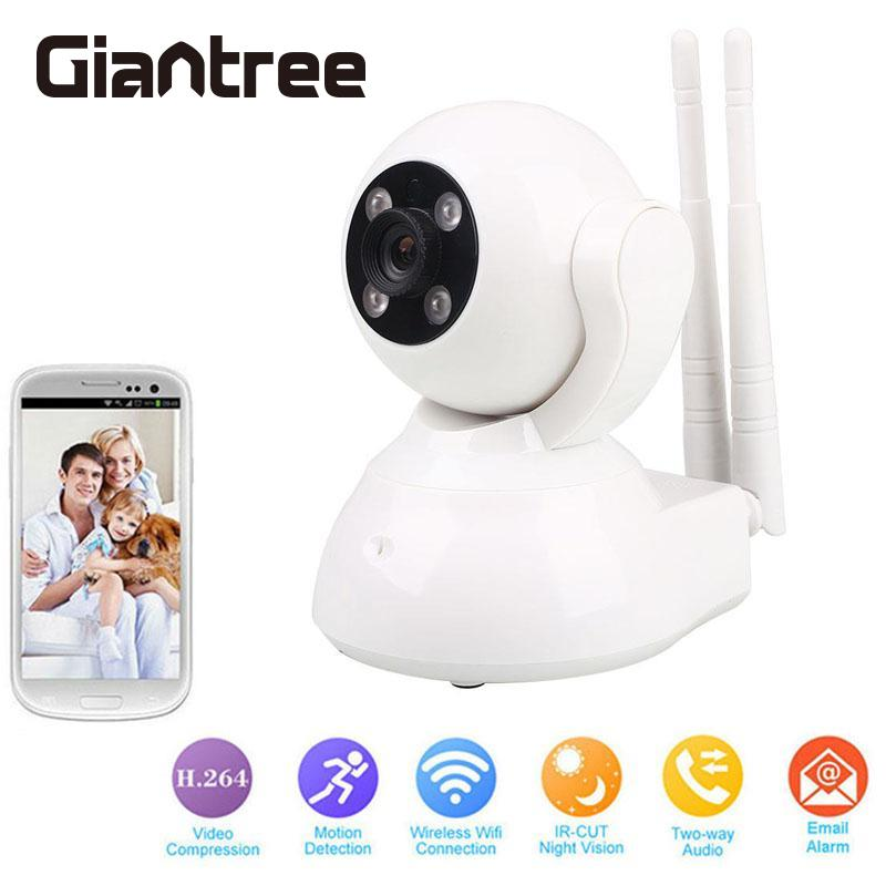 giantree 720P Home Security Camera CCTV Wifi Wireless IP Camera IR-Cut Infrared Night Vision Cam Webcam Motion Detection<br>