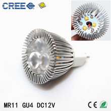 MINI CREE 3W MR11 GU4 LED Bulb Lamp White/Warm White Spot Light Energy Saving Led Lighting 3W Ultra Bright LED Spotlights(China)