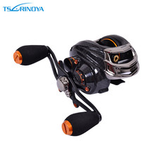 Trulinoya 13+1BB Left Right Hand Bait Casting Fishing Reel 6.3:1 Baitcasting Reel Magnetic Brake System Fish Wheel TS1200 Pesca