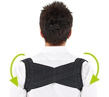 1pcs Light Weight Adjustable Posture Corrector Corset Back Brace Relieves Neck Back and Spine Pain Improves Posture High Quality
