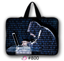 "Hacker Neoprene 10 10.1 12 11.6"" 13 13.3 15 15.4 14.4 17 17.3 Notebook Laptop Computer Sleeve Carry Handle Cases Cover Bag"