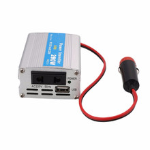 200W Auto Car Power Inverter USB Converter DC 12V To AC 220V w/Adapter