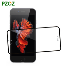 PZOZ For iphone 6 plus 3D tempered glass screen protector explosion-proof Slim full cover HD clear film ipone 6 s 4.7&5.5