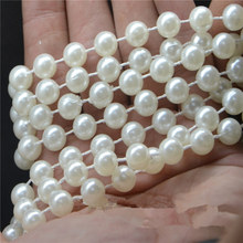 66FT/49FT/33FT Diamond Acrylic Crystal Beads Pearl Garland Strand Shimmer Curtain Party Wedding Decoration