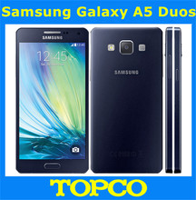 "Samsung Galaxy A5 Duos Original Unlocked 4G GSM Android Mobile Phone Dual Sim A5000 Quad Core 5.0"" 13MP RAM 2GB ROM 16GB"
