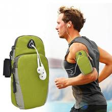 2017 Sport Running Riding Outdoor Arm Band Waterproof Nylon Arm Band Case Smart phone Bag Pouch for Phones Screen Less Than 5.5