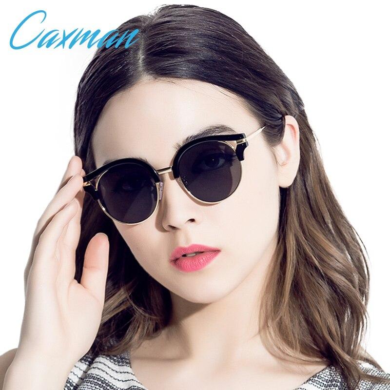 CAXMAN circle sunglasses women glasses women polarized retro sunglasses round sun glasses cat eye<br><br>Aliexpress