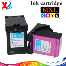 2X Ink Cartridge for HP 61 61xl for HP DeskJet 1050 2050 2050s 1010 1510 2620 3510 4502 4500 Replace Printer Ink Cartridge Parts(China)