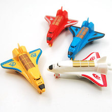 Mini Small Aircraft Model Simulation Aircraft Warrior Back Function Children Model toys Color Random(China)
