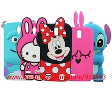 For Huawei Ascend G610 Case Cover 3D Stitch Minnie Mouse Sulley Rabbit Hello Kitty Silicone Cell Phone Cases For Huawei G610