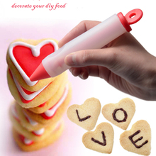 New Arrival Silicone Food Writing Pen Chocolate Decorating Pen Cake Mold Cream Cup free shipping