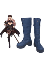 Girls Frontline PTRD Girls Long Cosplay Boots Shoes Custom Made Any Size(China)