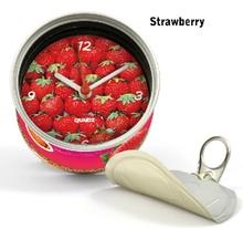 [In Stock] Strawberry Magnetic Cheap Wall Clocks,Cheap Desk Clocks,Cheap Table Function Clocks in Free Shipping 2pcs Pack