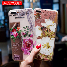 Buy BROEYOUE iPhone 6 Case iPhone 7 8 Case Silicone Cute Cartoon Matte TPU Soft Back Cover Phone Cases iPhone 6S 6 7 8 Plus for $1.19 in AliExpress store