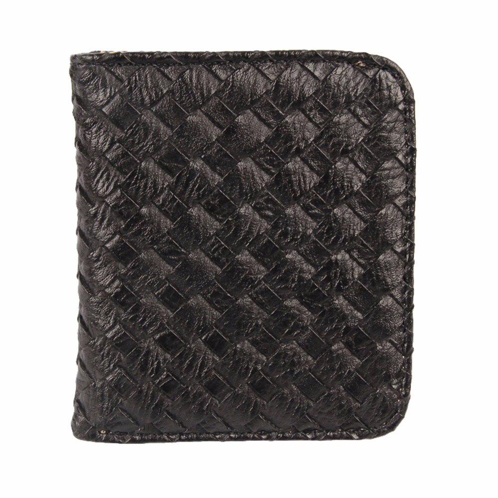 GUBINTU New Women Weave Pattern Coin Purse Short Wallet Card Holders High Quality Vintage Designer Purse Wallet Hot Sale Wallet <br><br>Aliexpress