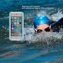 Life and swimming dual use diving ski waterproof case for phone Mobile phone bag For iPhone 6 6s 7 plus Case Waterproof Case