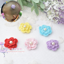 1 piece Wispy Clippy Pearl Flower HAIR CLIP - GIRL WISPY CLIPPY - BEST NO SLIP BARRETTE FOR FINE HAIR(China)