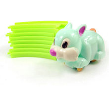 2017 New Toy for Baby 1 Set Kids Child Tortoise Rabbit Race Clockwork Track Toy Cute Gifts Toys for kids Wholesale Random send(China)