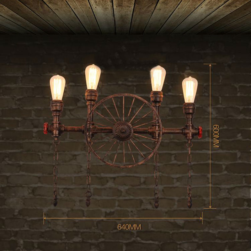 Water Pipe Wall Lamps 15