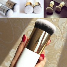 2017 Hot Sale Chubby Pier Foundation Brush Flat Cream Makeup Brushes Professional Cosmetic Make-up Brush Beauty Tool AP264