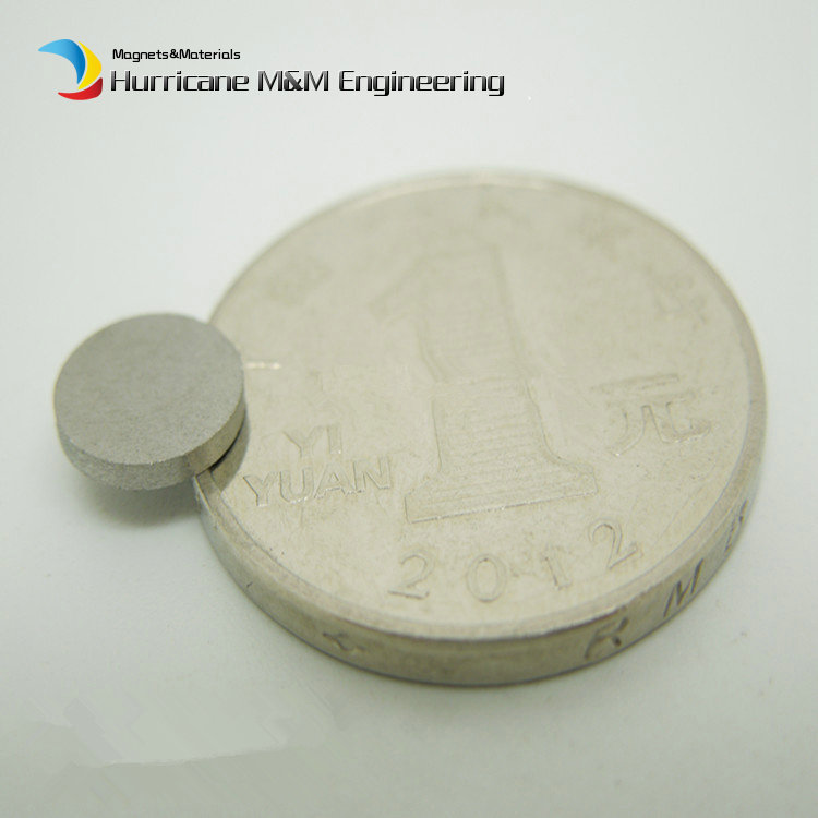 1 pack SmCo Micro Magnet Disc Dia. 8x1 mm Grade YXG24H 350 Degree C High  Working Temperature Permanent Rare Earth Magnets<br>