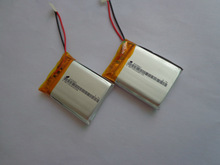 2Pcs Battery manufacturers to customize the call finished battery walkie talkie battery lithium polymer battery 3.7v(China)