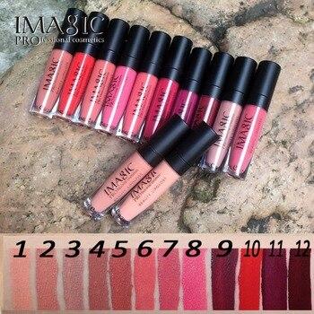 IMAGIC lip kit Rare Lèvres Peinture rouge à lèvres mat Imperméable Fraise Longue Durée Brillant FB brillant à lèvres