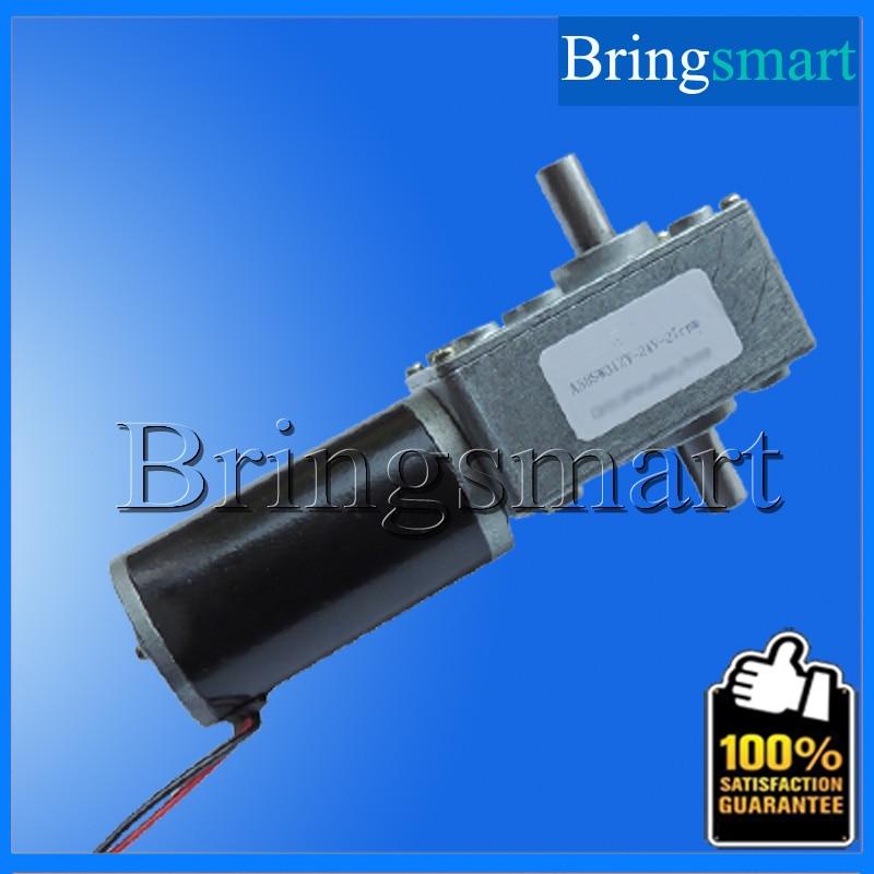 Wholesale A58SW31ZYS 12-24V worm gear motor 7-470 rpm Reversed Dc Motor electric Dc Motor D Shaft For Diy Experiment Bringsmart<br><br>Aliexpress
