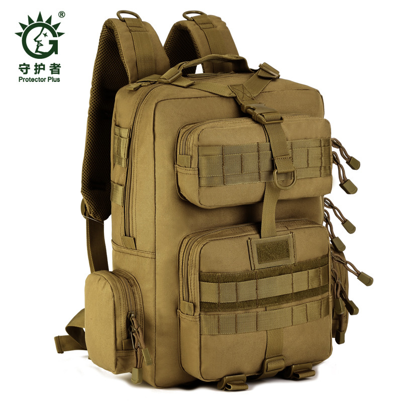 30L Mens Women Military Backpacks Waterproof Nylon Fashion Male Laptop Backpack Female Travel Rucksack Camouflage Army Hike Bag<br>