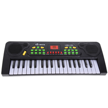 37 Keys Music Electronic Keyboard Kid Electric Piano Organ W/Mic & Adapter,kids music instruments,music toys, gift for kid