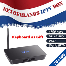 Buy Dutch IPTV X92 android tv box 7.1 s912 Europe Netherlands Holland Israel Swedish IPTV Subscription Free box Smart ip tv box for $92.00 in AliExpress store
