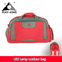 36.8L outdoor LED lamp multifunctional bag shoulder portable large capacity travel bags Opening ceremony outdoor sports 2017(China)
