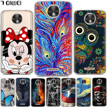 For Motorola Moto C Case 2017 Silicone Printing Cartoon Soft TPU Phone Case For Motorola Moto C XT1750 XT1754 Case Cover 5.0(China)