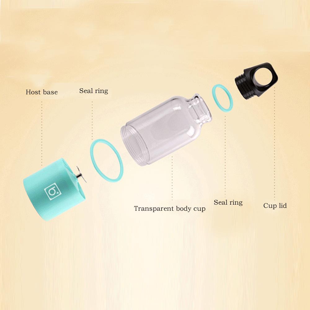 USBعصارة الكأس البسيطة المحمولة قابلة للشحن 15