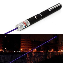 2017 NEW Powerful Blue/Violet Laser Pointer Pen Beam Light 5mw 405nm Professional Lazer Pointer Pen Beam Light