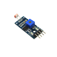 Free Shipping LM393 Optical Sensitive Resistance Light Detection Photosensitive Sensor Module for arduino 4Pin DIY Kit