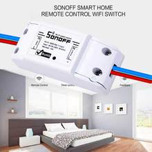 Sonoff Smart Home Remote Control Wifi Switch Smart Home Automation Module Intelligent WiFi Center for iOS Android APP 10A/2200W