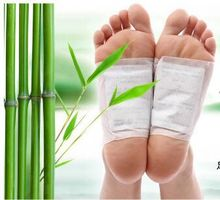 Free Shipping High quality Detox Foot Patch Bamboo Pads Patches With Adhersive sheet, 200pcs=100pcs Patches+100pcs Adhesives