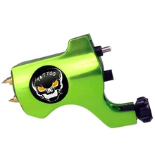 Hot Sales New Bishop Rotary Tattoo Machine For Shader and Liner Green High Quality Fashion Tattoo Machine Free Shipping