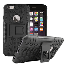 Brand Case for iPhone 4 4S silicone case PC +TPU Neo Hybrid Durable Slim Armor cover For Apple iphone on 4S se free ship(China)